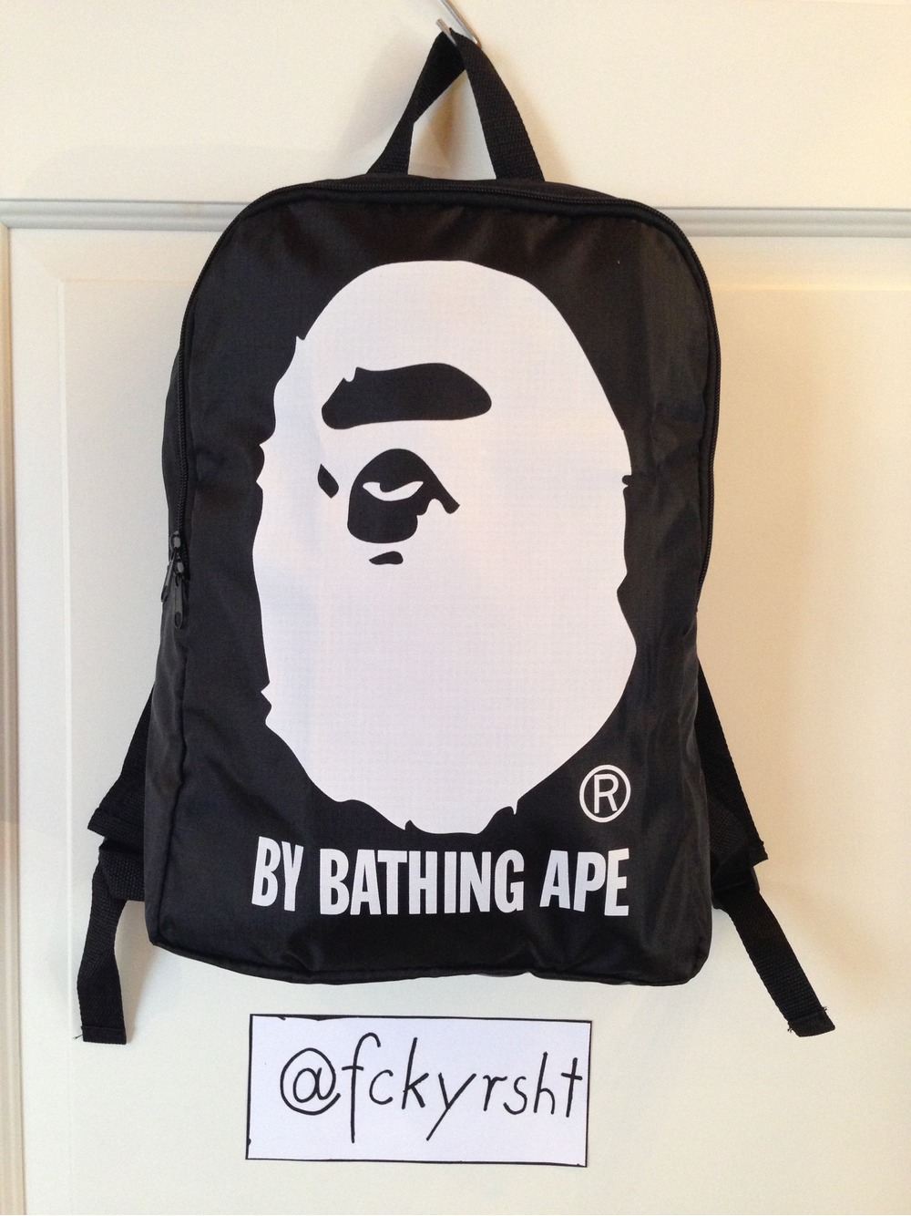 Trade In Marketplace >> A Bathing Ape (Bape) Backpack, DS condition, new and ...