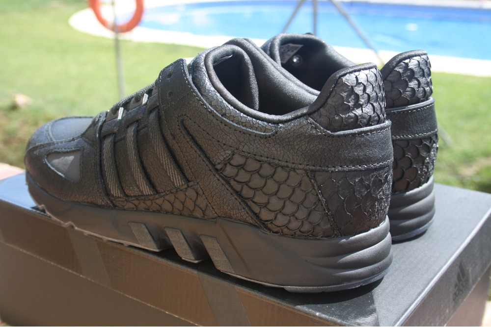 sports shoes 65666 4a306 PUSHA T x Adidas EQT RUNNING GUIDANCE 93 10 US quotBlack Marketquot King