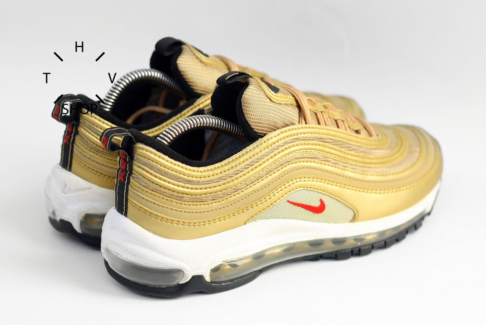 best service 3d931 63f9b ... 2008 Nike Air Max 97 sneakers shoes WMNS DS OG deadstock varisty red  metallic gold 90 ...