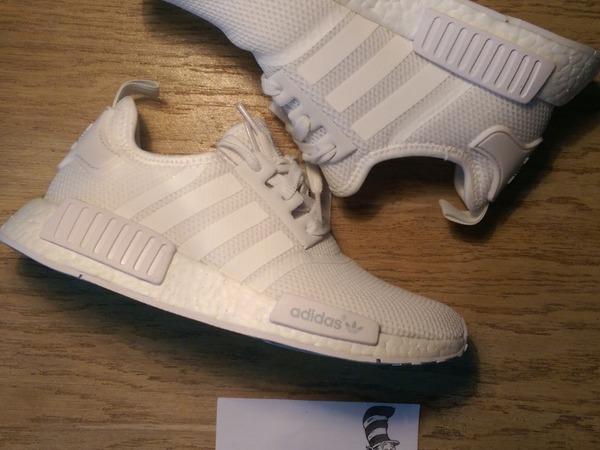 Adidas Boost NMD R1 Runner Boost Tripple White US 6,5 / UK 6 / 39 1 / 3 - photo 1/5