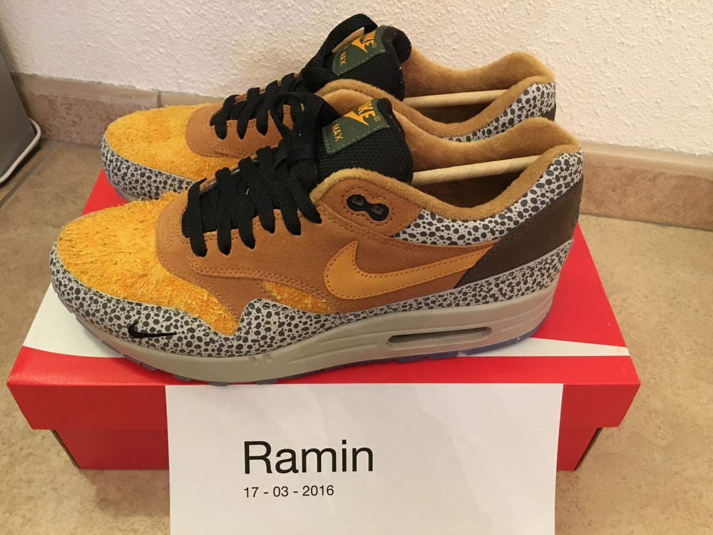 huge discount 42c33 b62ec ... Nike Air max 1 Premium QS Safari Atmos - 2016 - photo 1 2 ...