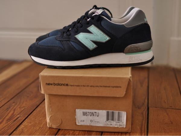 New Balance 670 NTU <strong>Norse</strong> <strong>Projects</strong> US8 - photo 1/1
