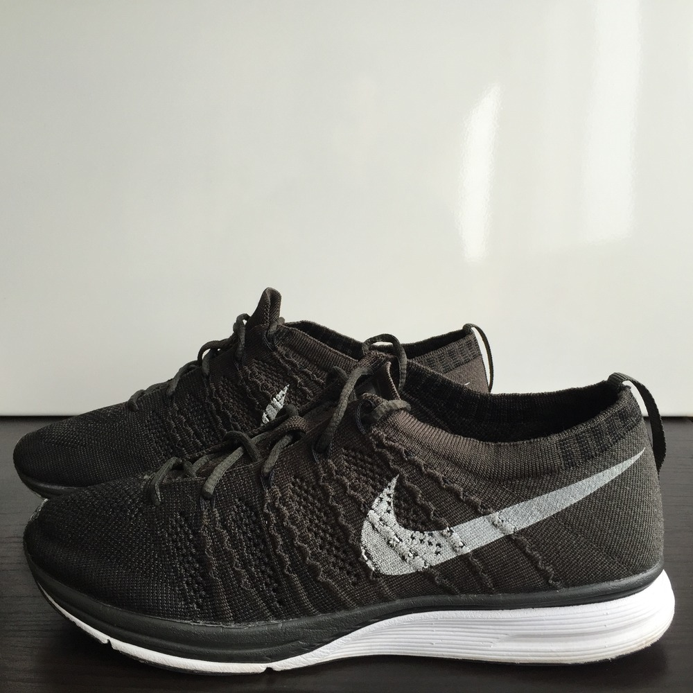 a3d08c450231 ... Nike Flyknit Trainer+ Black Sequoia 532984 030 - photo 2 3 ...