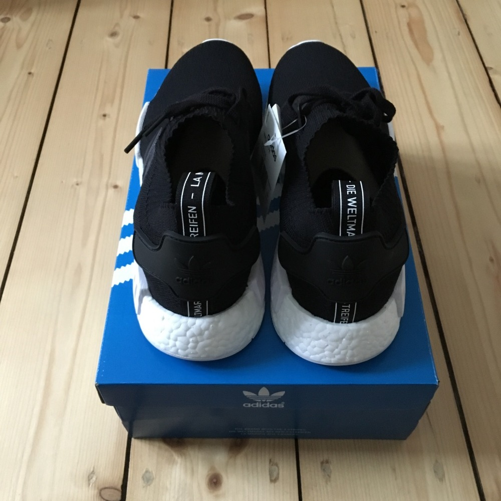b9636f438 Adidas Nmd R1 Monochrome Black los-granados-apartment.co.uk