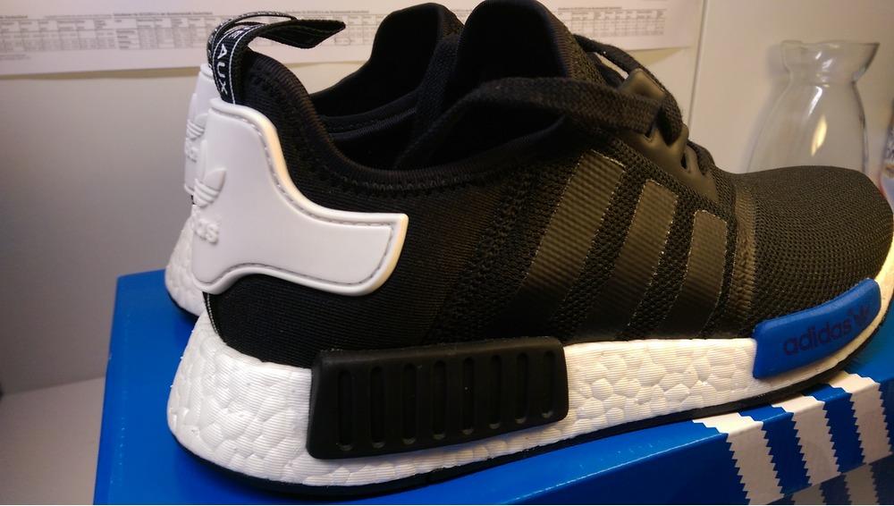 Adidas Nmd R1 Black Blue Adidasnmdwomensuk Co Uk