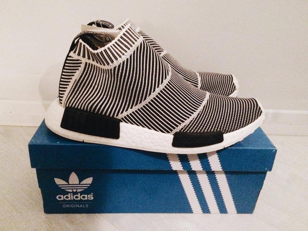 961fa7bc2b04e7 Adidas originals Nmd Runner Primeknit In Core Black for Men Lyst