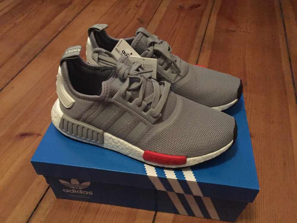 Adidas Nmd Runner Grey