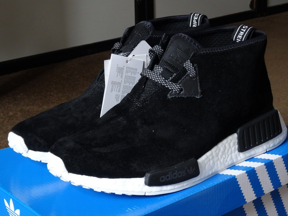 wholesale dealer 4f369 97b55 NMD C1 Chukka Black White Sneaker for Sale, Best Ultra Boost Hot