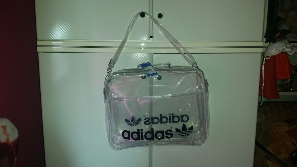 adidas transparent bag