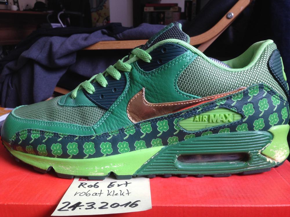 hot sale online 39908 ad40a ... Nike Air Max 90 QT St Patricks Day - photo 29 ...