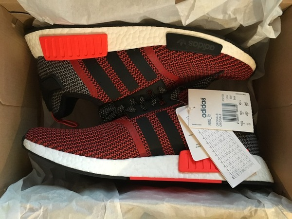 Adidas NMD_R1 Lush Red NMD US11 DS - photo 1/2