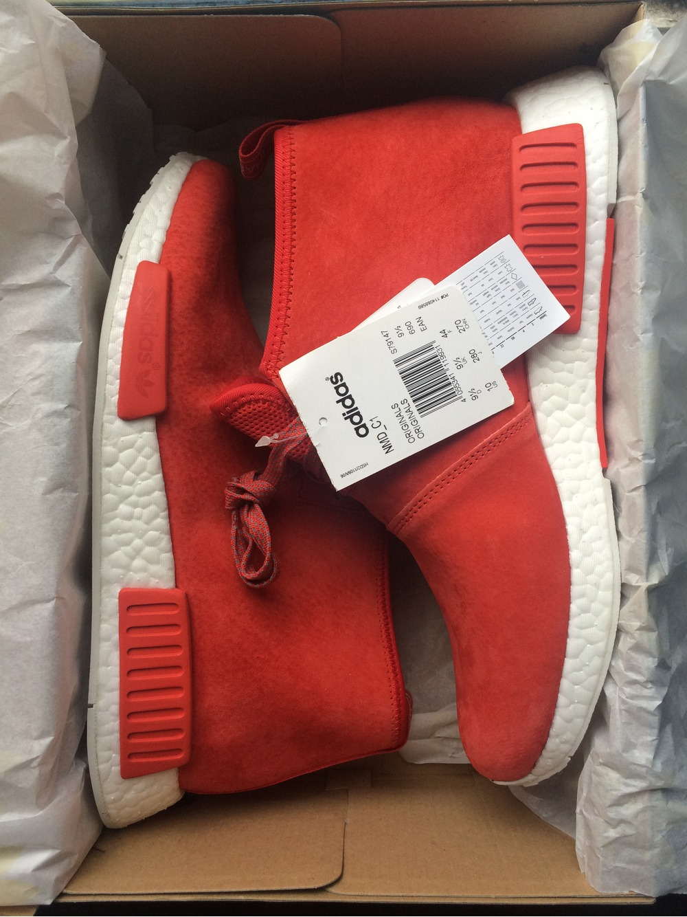0bd8a2665928 ADIDAS x END. Consortium NMD C1 (Unboxing)