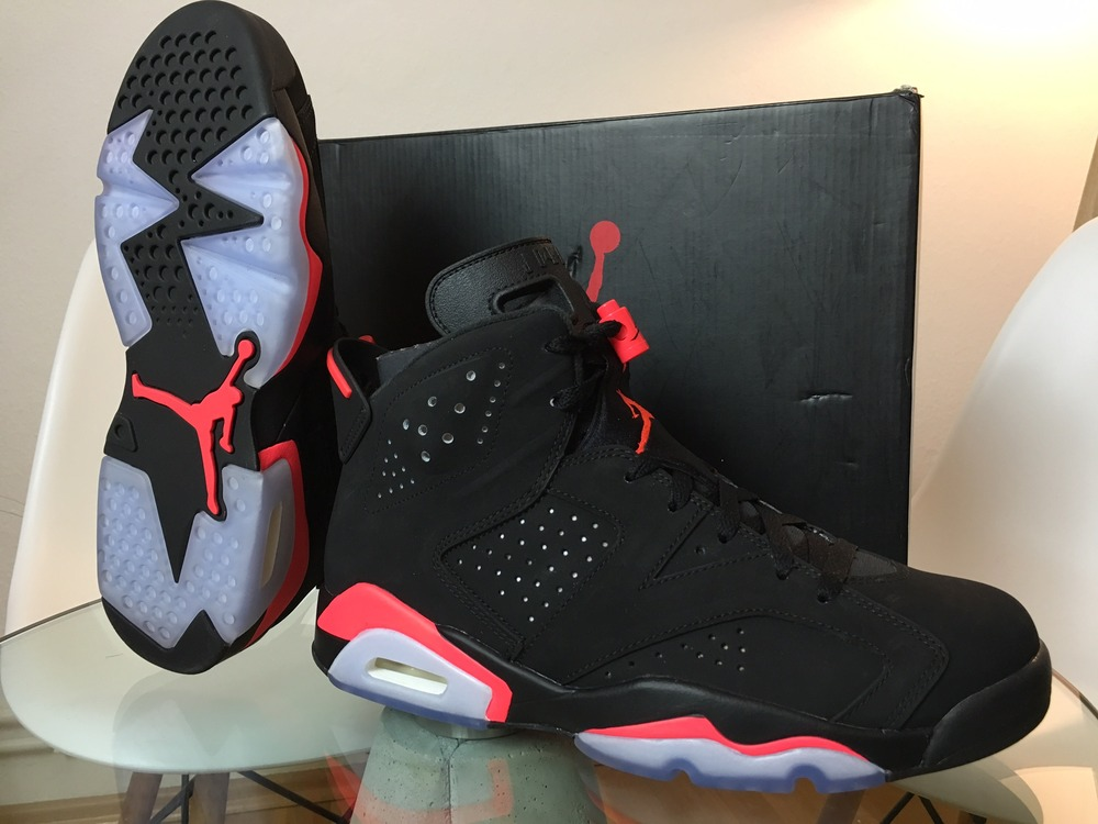 air jordan 6 infrared used in physical therapy