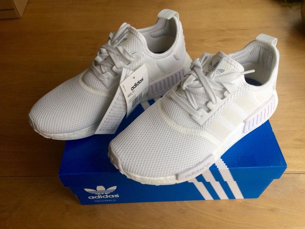 8db9cc6c20f85 Adidas Nmd R1 White Mesh adidastrainersuk.ru