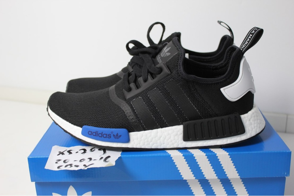 wholesale dealer e93b7 7abc3 Buy adidas nmd runner black and blue - 62% OFF
