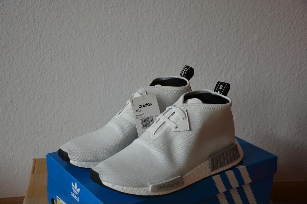 END. X adidas Consortium NMD C1 ?Sahara Vagrant Sneaker