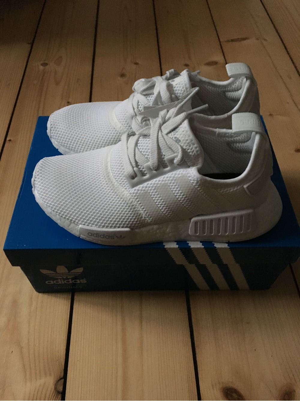 9bbf53053d1a3 letgo Adidas NMD R1 Grey (Women s) in Times Square