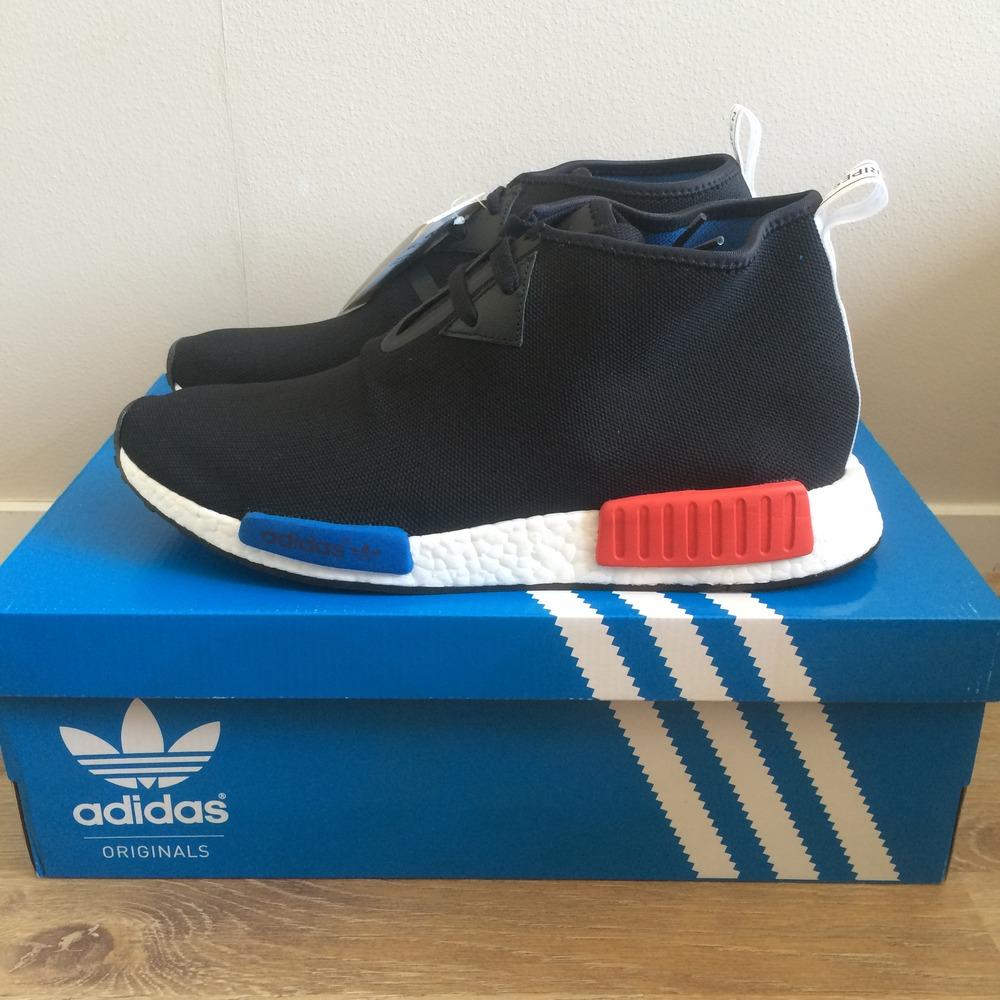 5aa2043d30c5b Adidas originals  nmd c1 Trail  Hi top Sneakers in Gray for Men Lyst