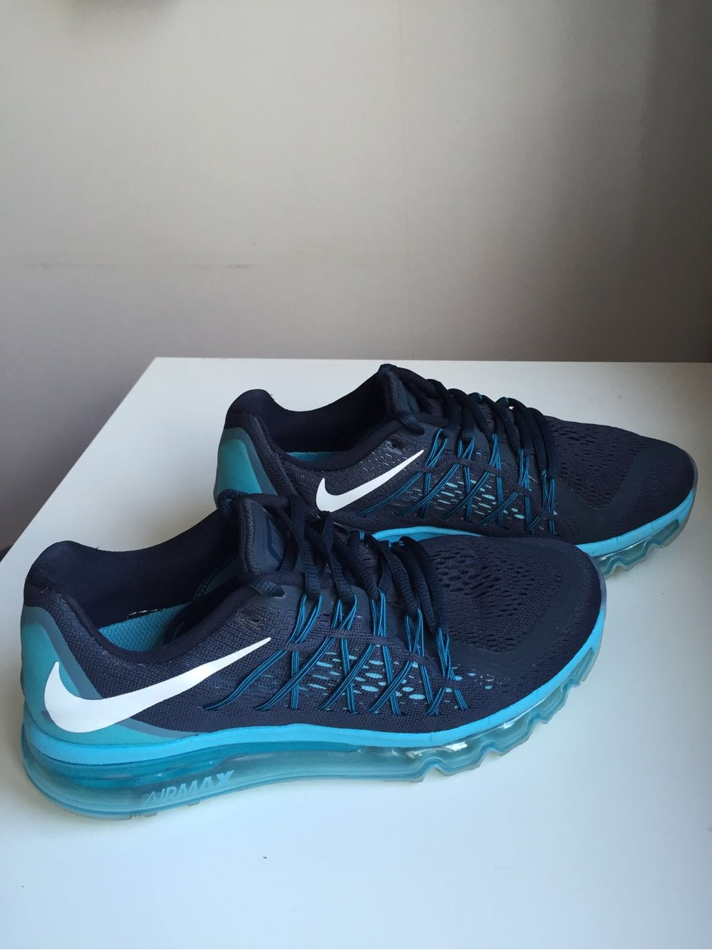 low priced a5afd 34e6b Nike Air Max 2015 Dark Obsidian Blue Lagoon