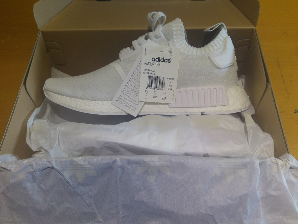 Cheap Adidas X WHITE MOUNTAINEERING NMD Trail PK BA7518 Men's