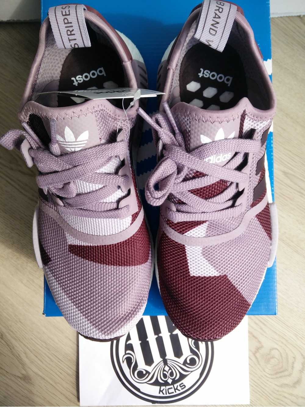 Adidas Nmd Blanche Camo