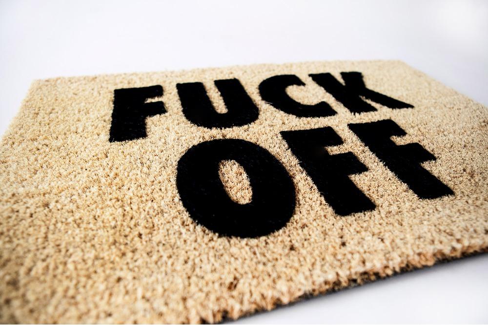 Fuck Off Doormat 24