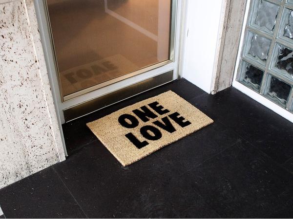 ONE LOVE - DOORMAT - photo 1/3