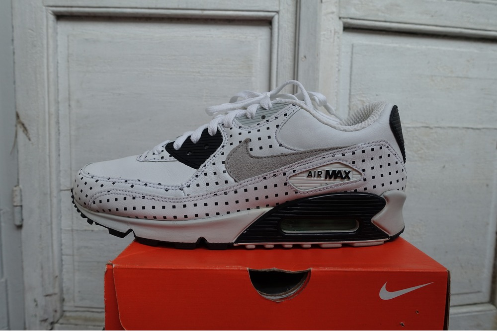 0df5ad0dc8a9ae ... Nike Air Max 90 OG 2007 Foot Patrol Square Polka Dots 8us41eur7uk ...