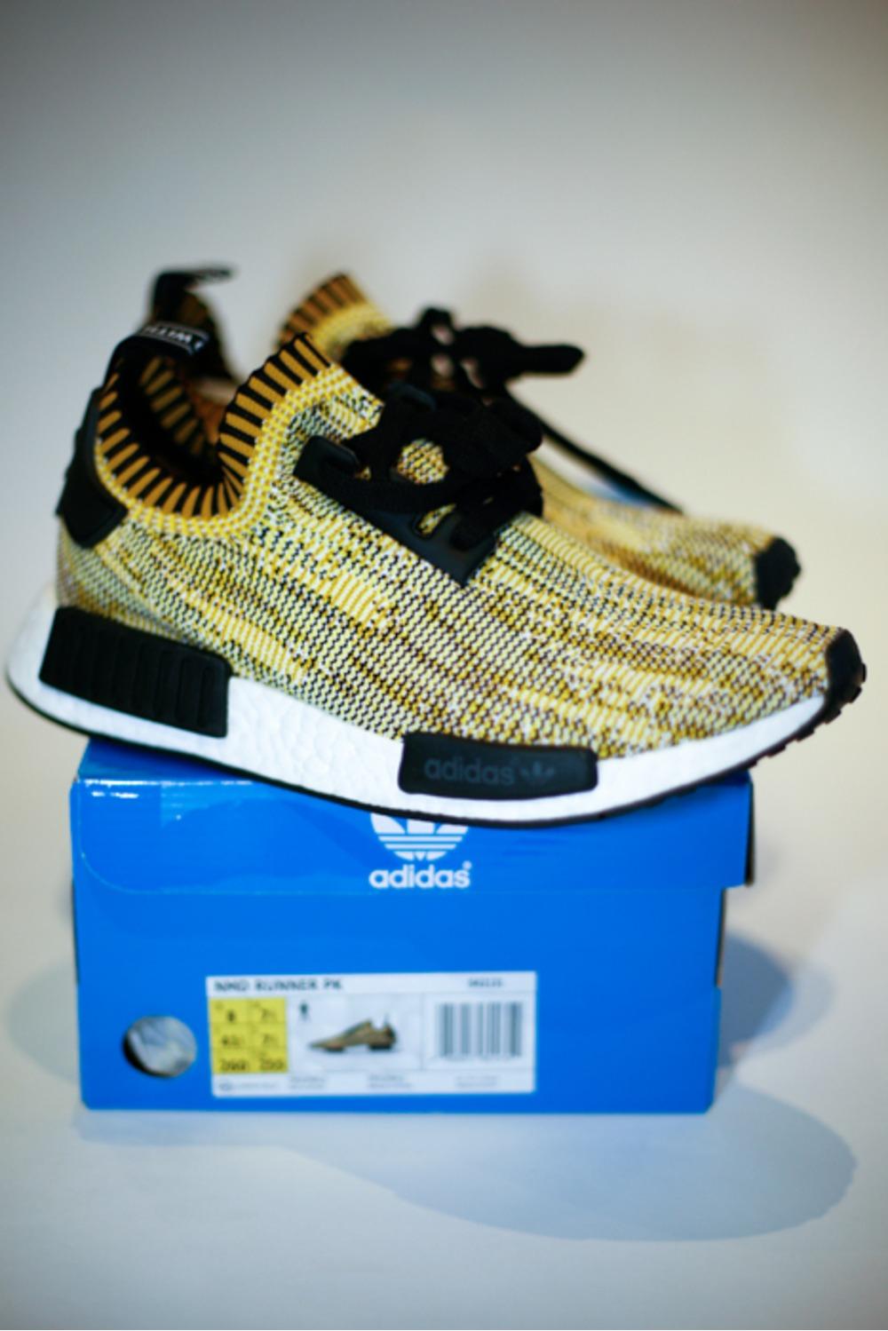 Bape x Adidas nmd r1 ba7326 on Feet Review