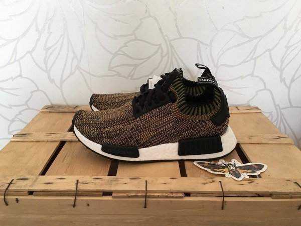 Adidas NMD_R1 Primeknit Olive different sizes 1x US6 - US7 - US7,5 - US8,5 - US9,5 - photo 1/1