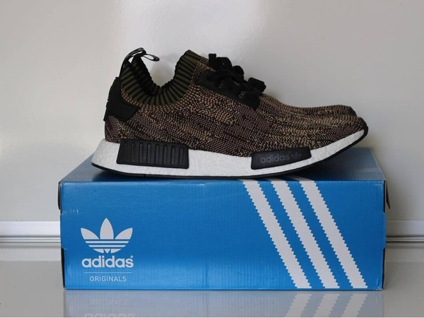 "Adidas NMD_R1 Camo pack ""Olive"" - photo 1/2"