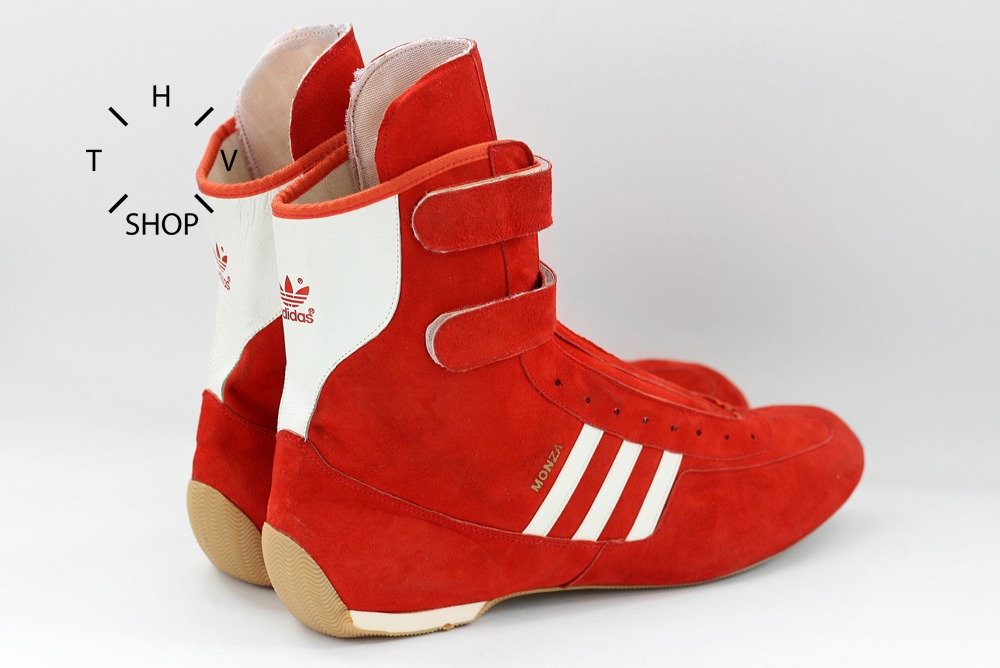 Ds 1980s Adidas Originals Monza Driving Boots Hi Tops