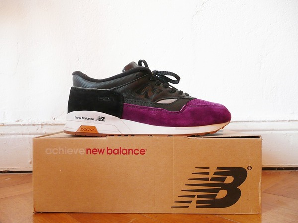 New Balance 1500 BPW PURPLE DEVIL 'Ghettrocentricity' Custom (1 of 1) US 10.5 - photo 1/1