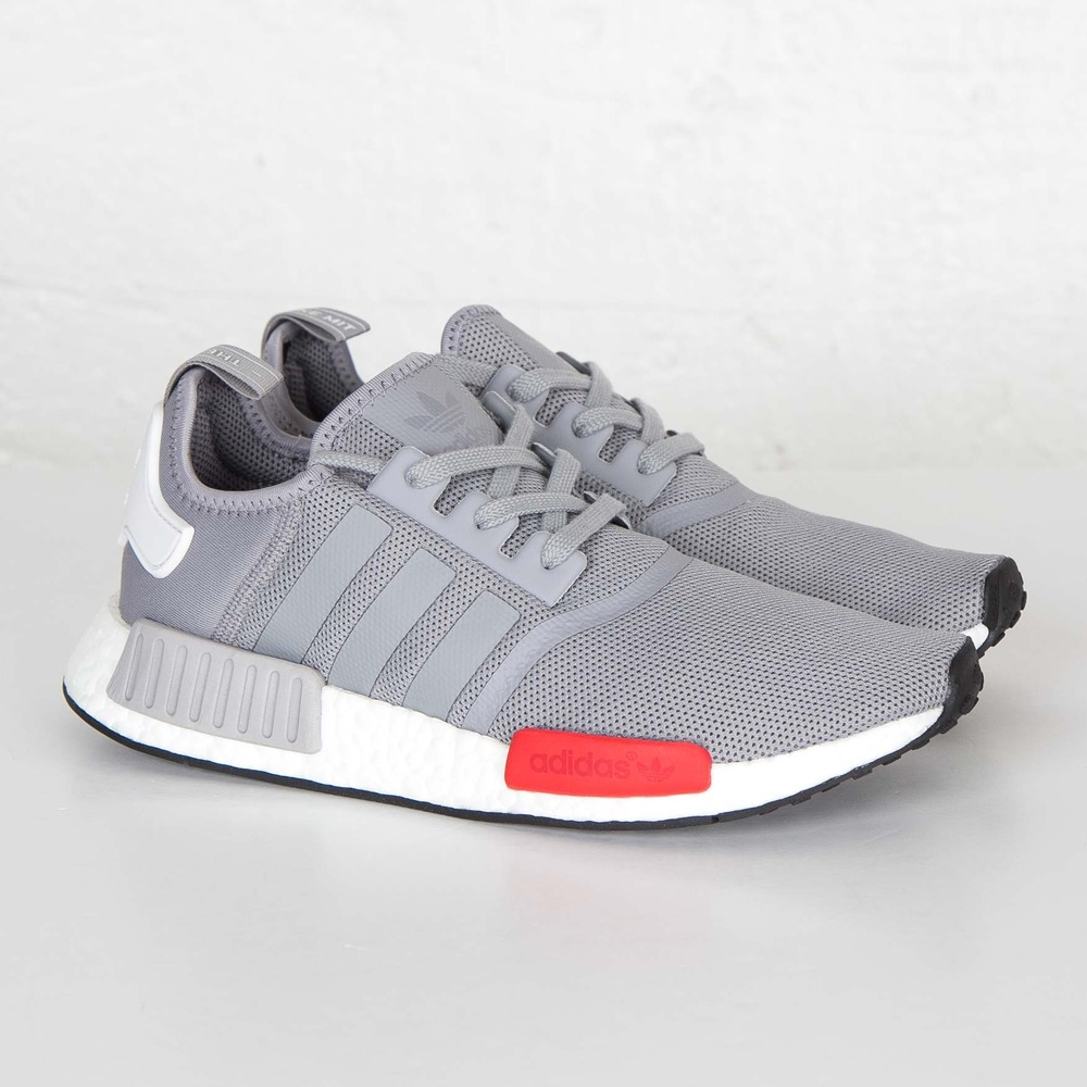 Adidas Nmd R1 White Burgundy Champs Exclusive