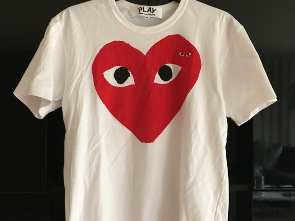 New <strong>Comme</strong> <strong>des</strong> Garçons PLAY T-Shirt - photo 1/3