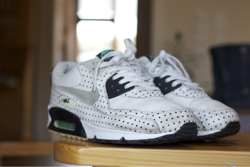 4efef58de350fa These samples shown in the picture 2007 Footpatrol x Air Max 90 39Square  Polka39 Dots ...
