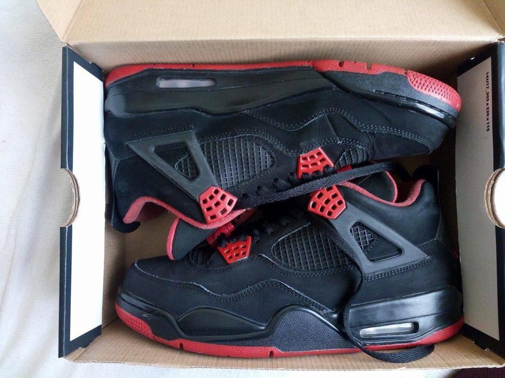 sneakers for cheap b6d97 abb78 ... Air Jordan 4 quotDirty Bredquot Custom T.43EU ... Nike ...