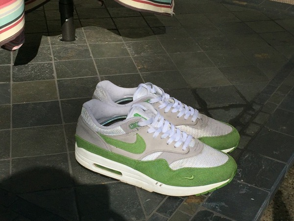 the latest f672e 916f7 ... Parra Amsterdam ltstronggt Nike Air Max 1 Patta  ltstronggtChlorophyllltstronggt US11.