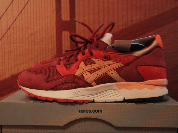 "Ronnie Fieg x Asics Gel Lyte V - ""Volcano"" 9 US - photo 1/2"