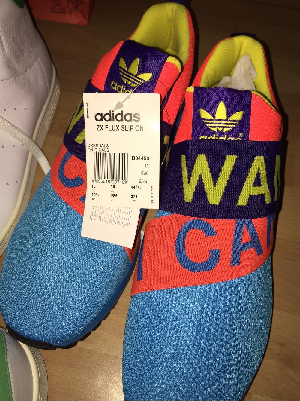 7fecb6beeef9 Adidas ZX Flux Smooth Slip (Womens) (HALF PRICE) WOMENS