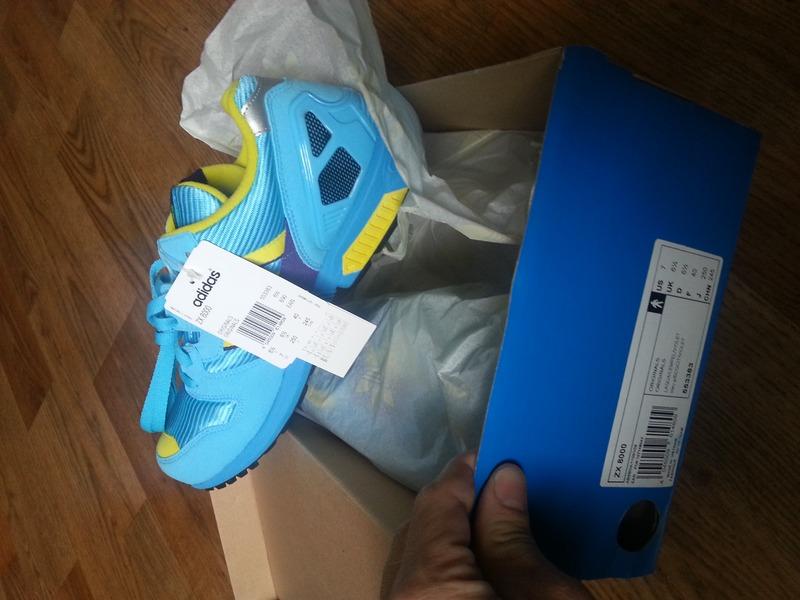 adidas zx 8000 aqua for sale