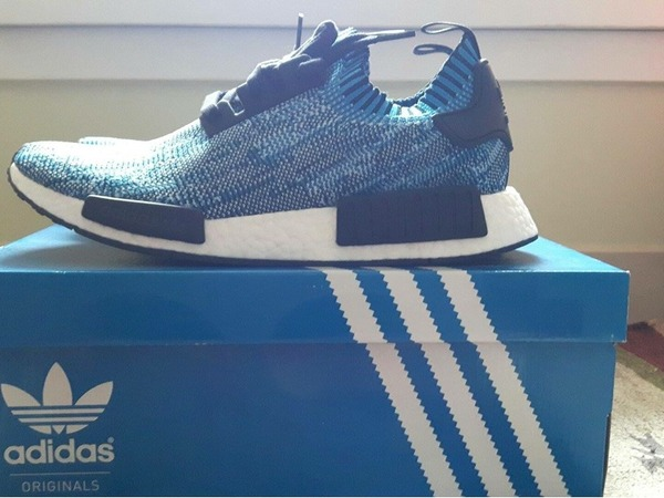 Adidas NMD PK blue camo - photo 1/3