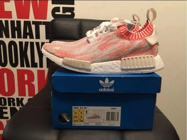 Adidas NMD PK Solar red - photo 1/3