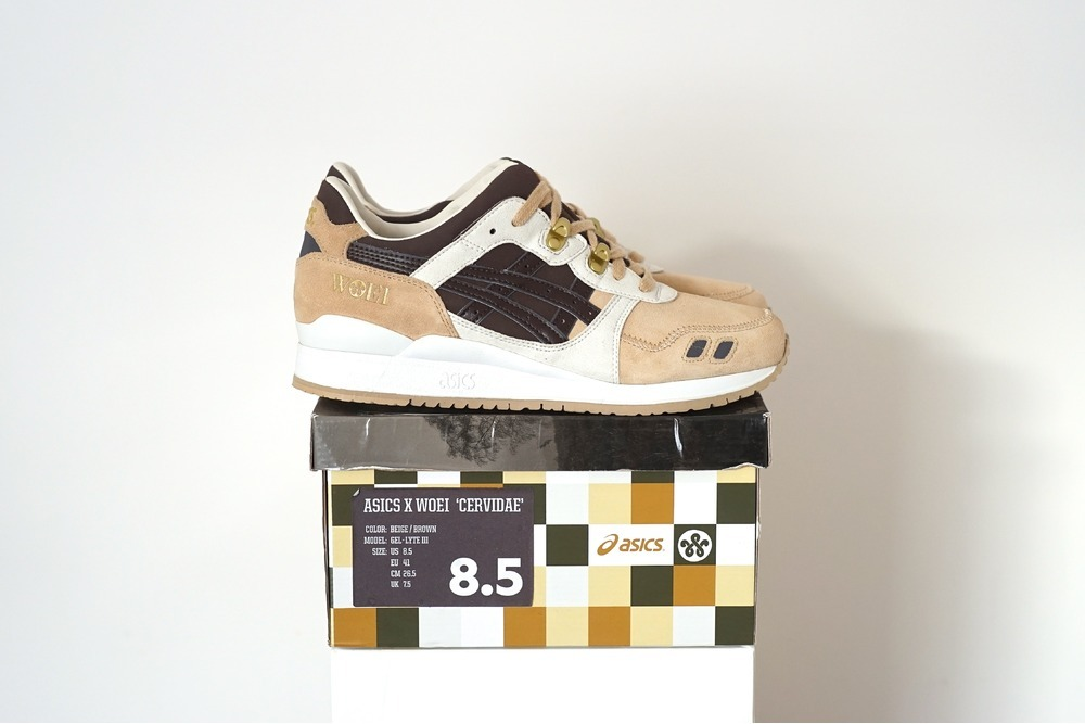 release date: 4d027 8a3e1 woei x asics gel lyte iii cervidae another look
