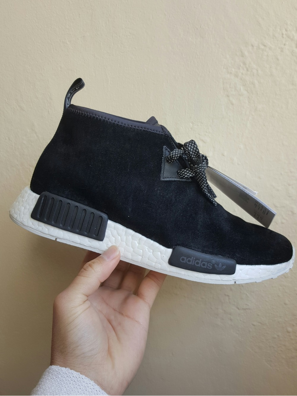 Adidas Originals NMD C1 Chukka Black Suede 11US New in Box DS 9b4a30400