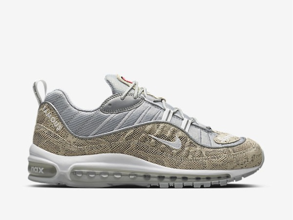 <strong>Nike</strong> <strong>Air</strong> <strong>Max</strong> <strong>98</strong> <strong>x</strong> <strong>supreme</strong> <strong>snakeskin</strong> 8/8.5US - photo 1/1