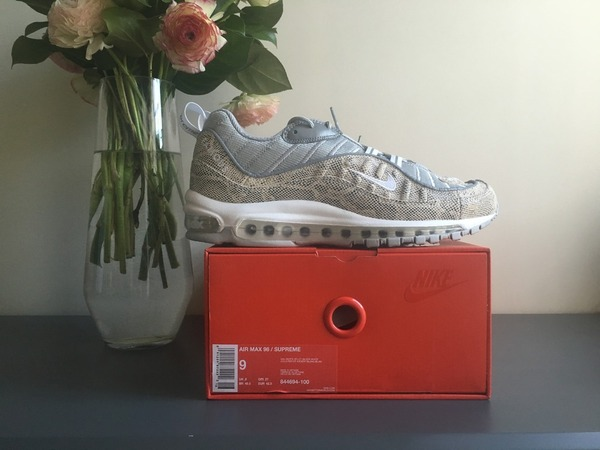 <strong>Nike</strong> <strong>Supreme</strong> <strong>Air</strong> <strong>Max</strong> <strong>98</strong> <strong>Snakeskin</strong> TZ QS SP - photo 1/6
