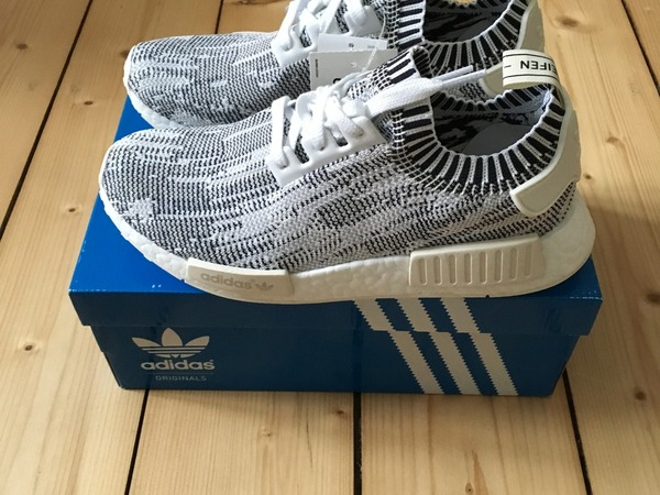 Adidas NMD R1 Gum Pack White Today I rock these!