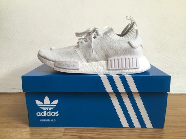 Adidas NMD Nomad PK Primeknit Monochrome Pack Triple White - photo 1/3