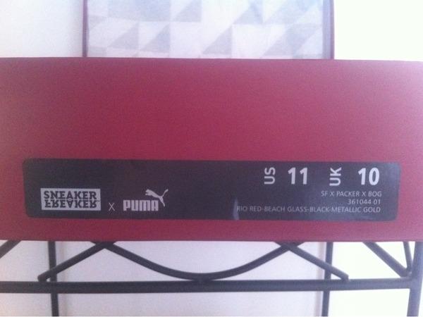 "Puma Blaze of Glory Sneaker Freaker x Puma Blaze of Glory ""<strong>Bloodbath</strong>"" x Packer Shoes - photo 1/3"